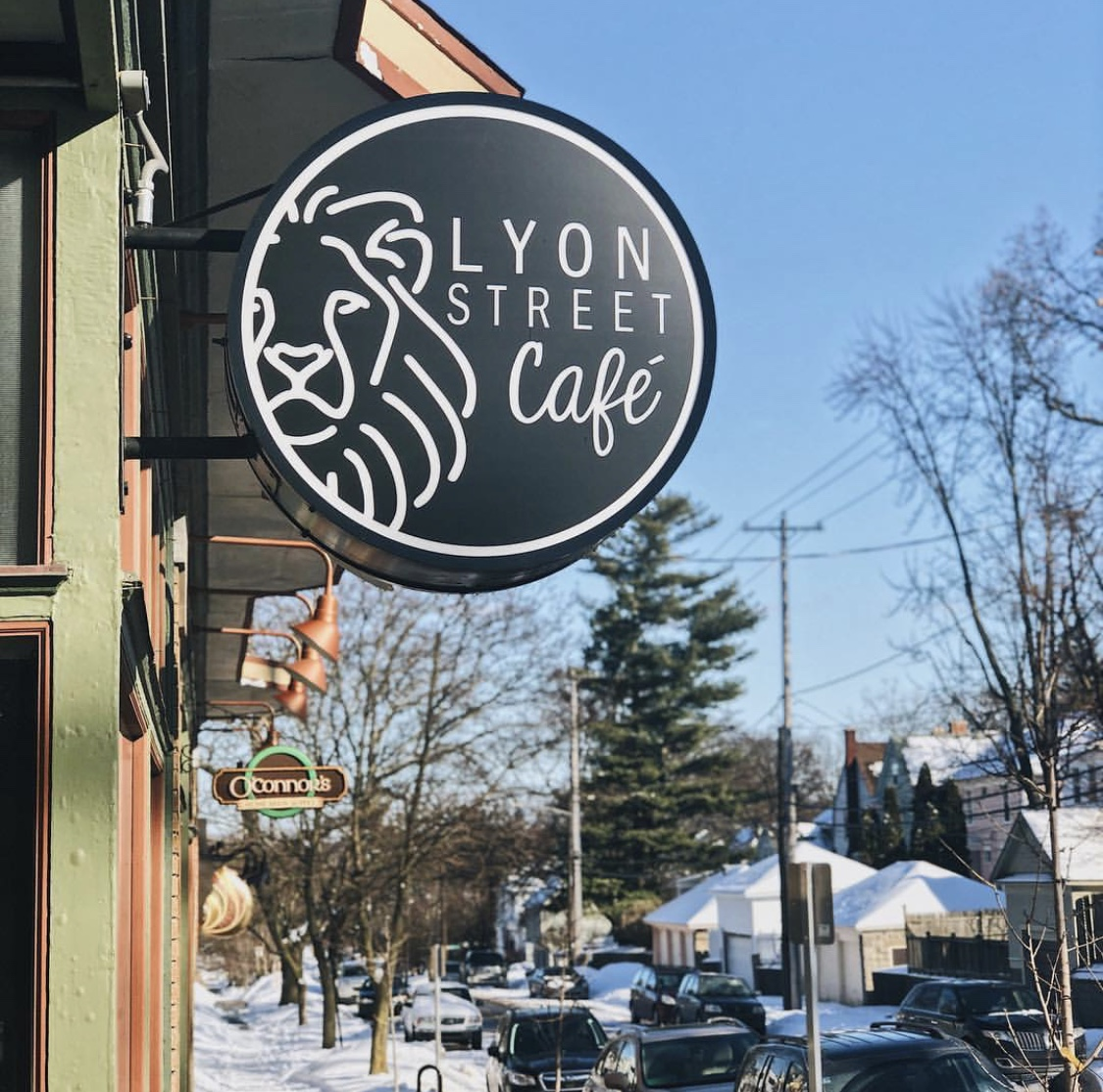 Lyon street cafe midtown grand rapids michigan