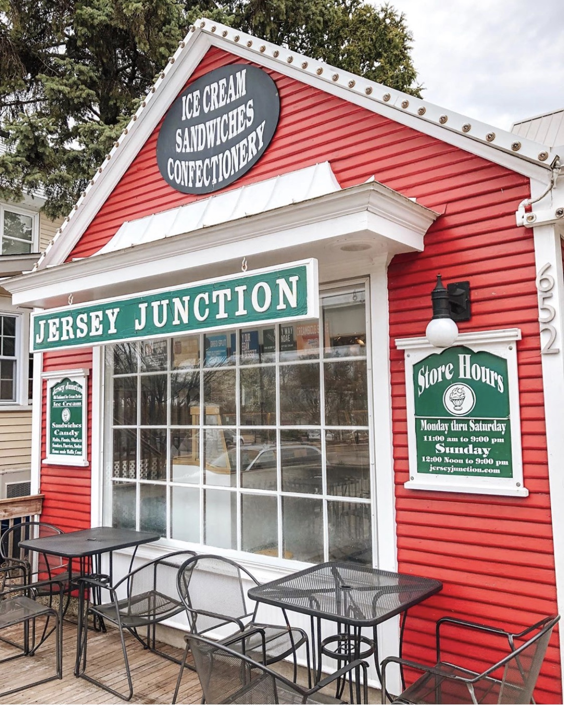 jersey junction ice cream shop gaslight village grand rapids michigan iheartgr iheartgrandrapids