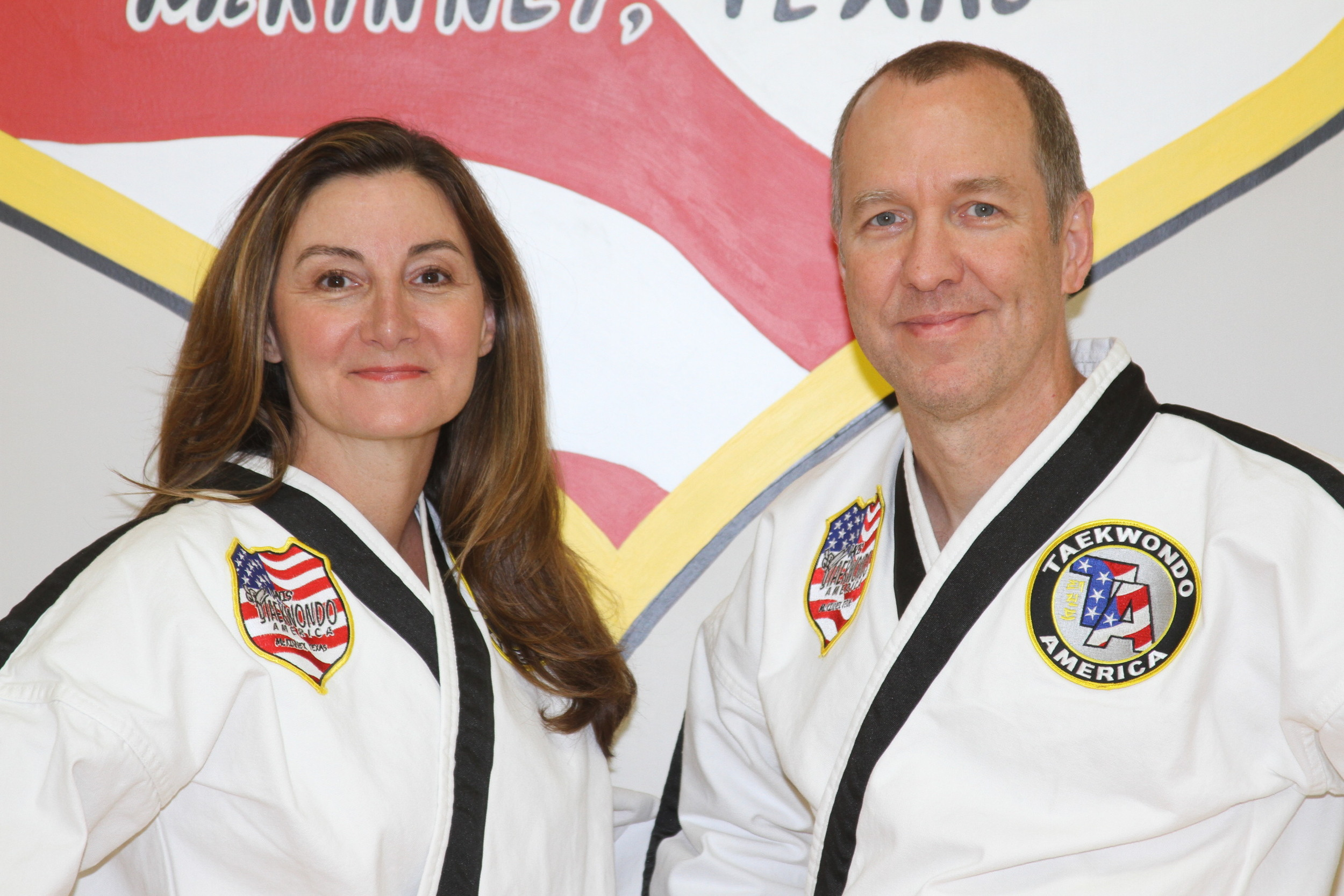 Mr. and Mrs. Davis each have over 25 years of martial arts experience.