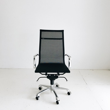 Black Rolling Desk Chair   Price: $150 (sells for $250)