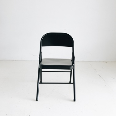 (8) Black Fold Chairs   Price: $10 each or $50 for all 8