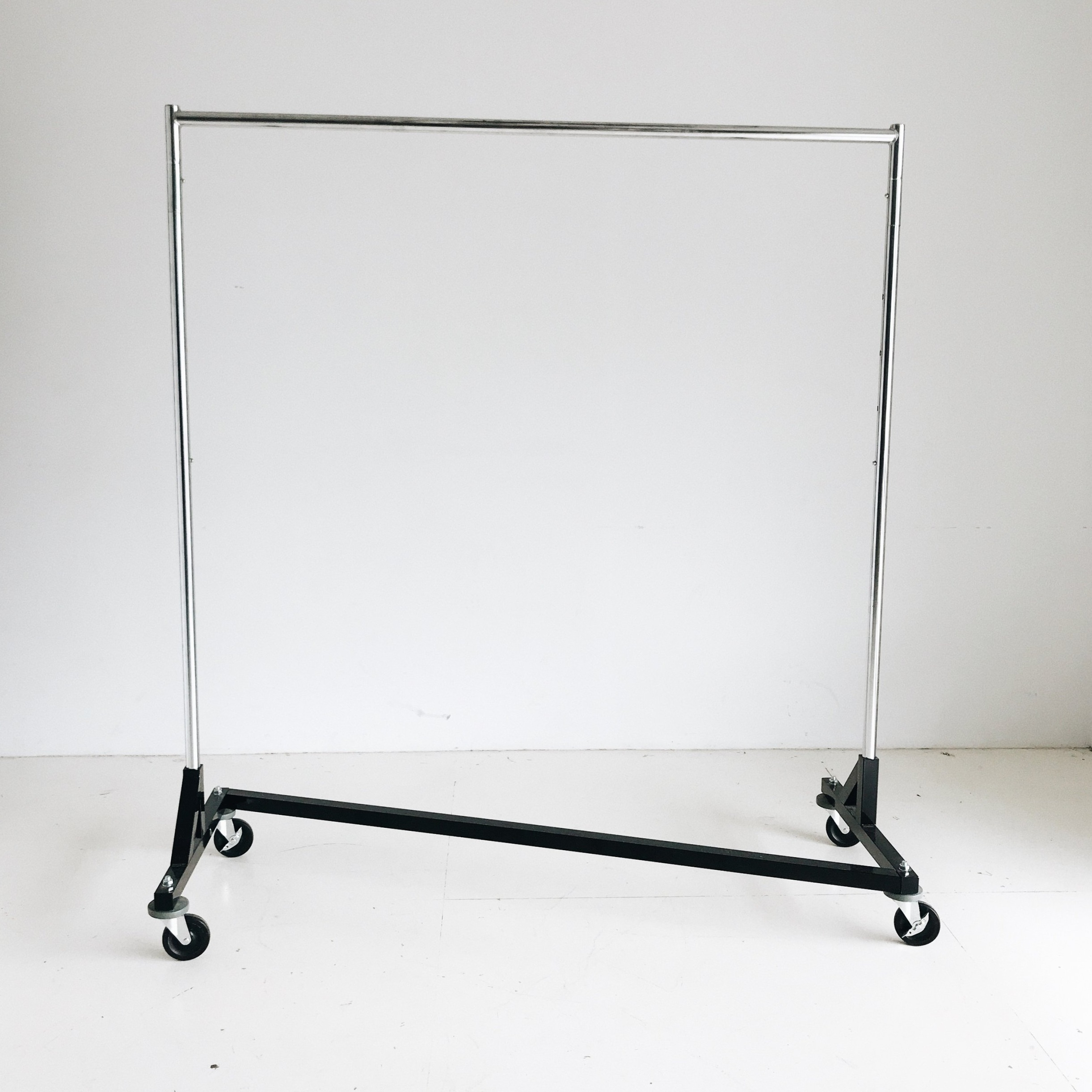 (2) Rolling Wardrobe Racks   Price: $35 each or $50 for both