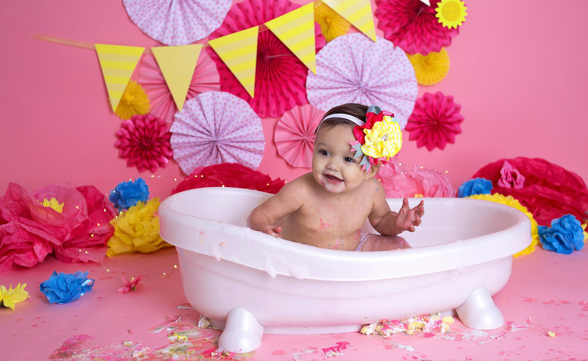 SPLISH SPLASH - SHE WAS TAKING A BATH!