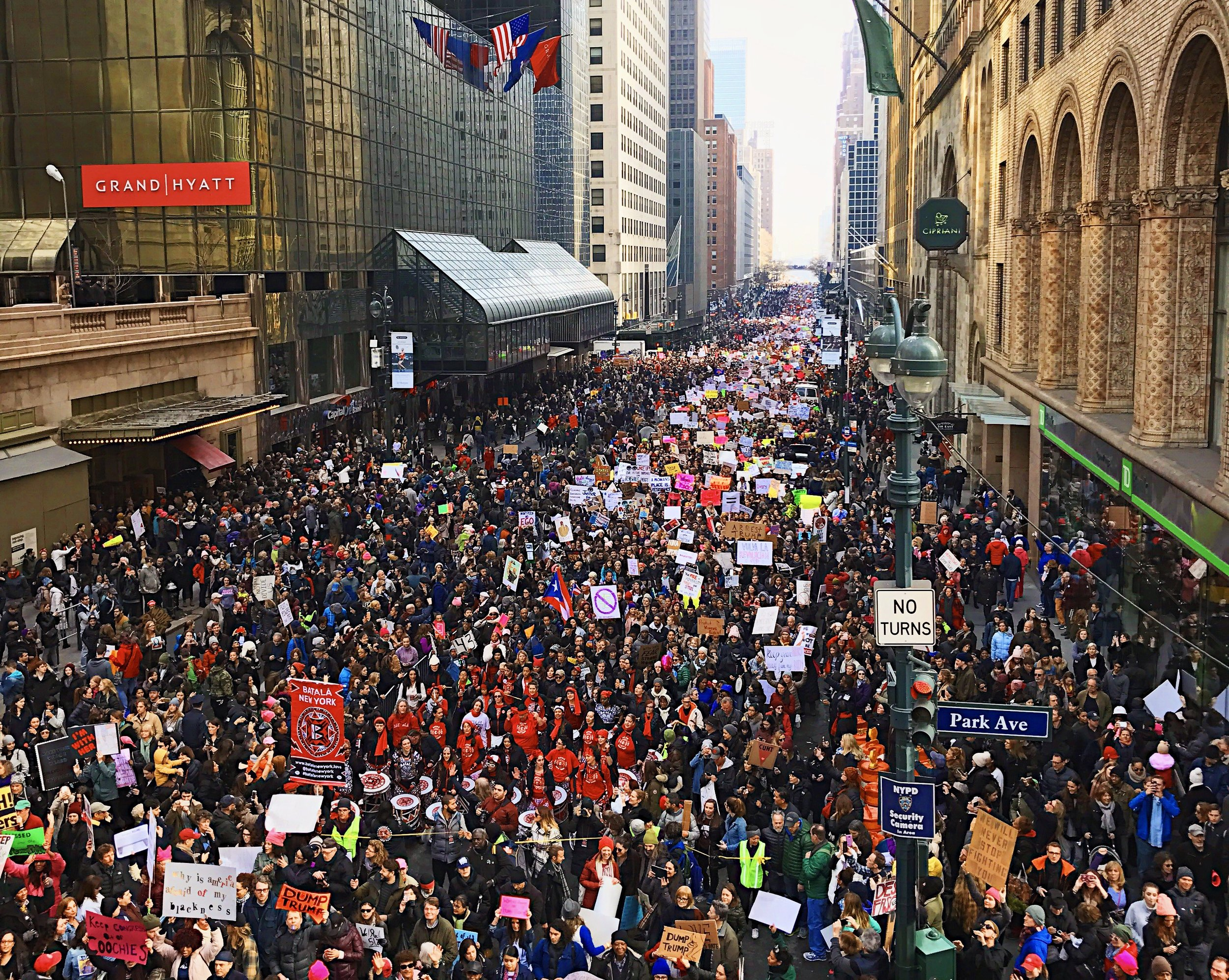 Jan. 21, 2017: The Women's March on NYC