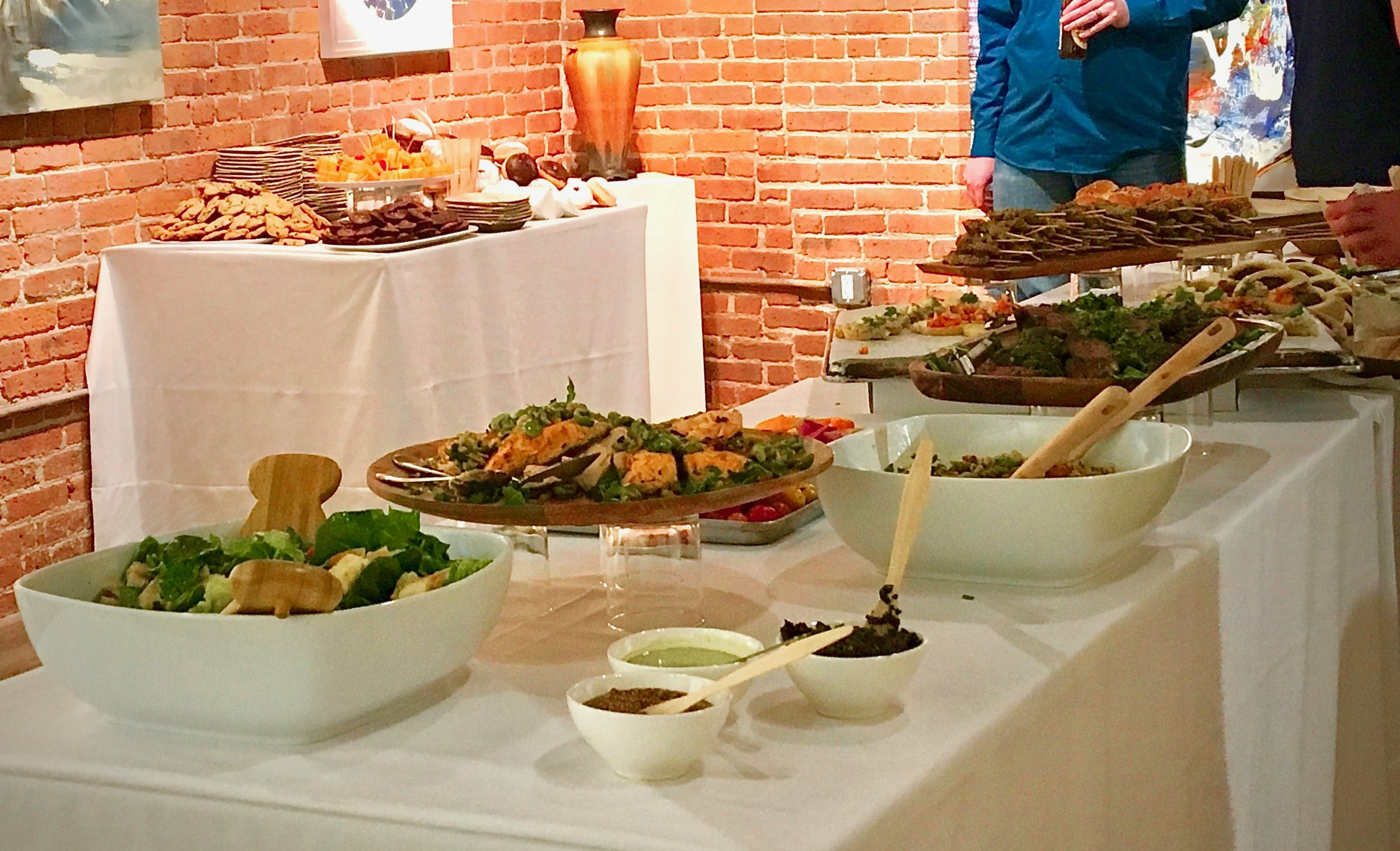 December 5, 2018 Corporate Reception at Novado Gallery catered by Chi-Chi Eats. Photo:Noado Gallery, LLC.