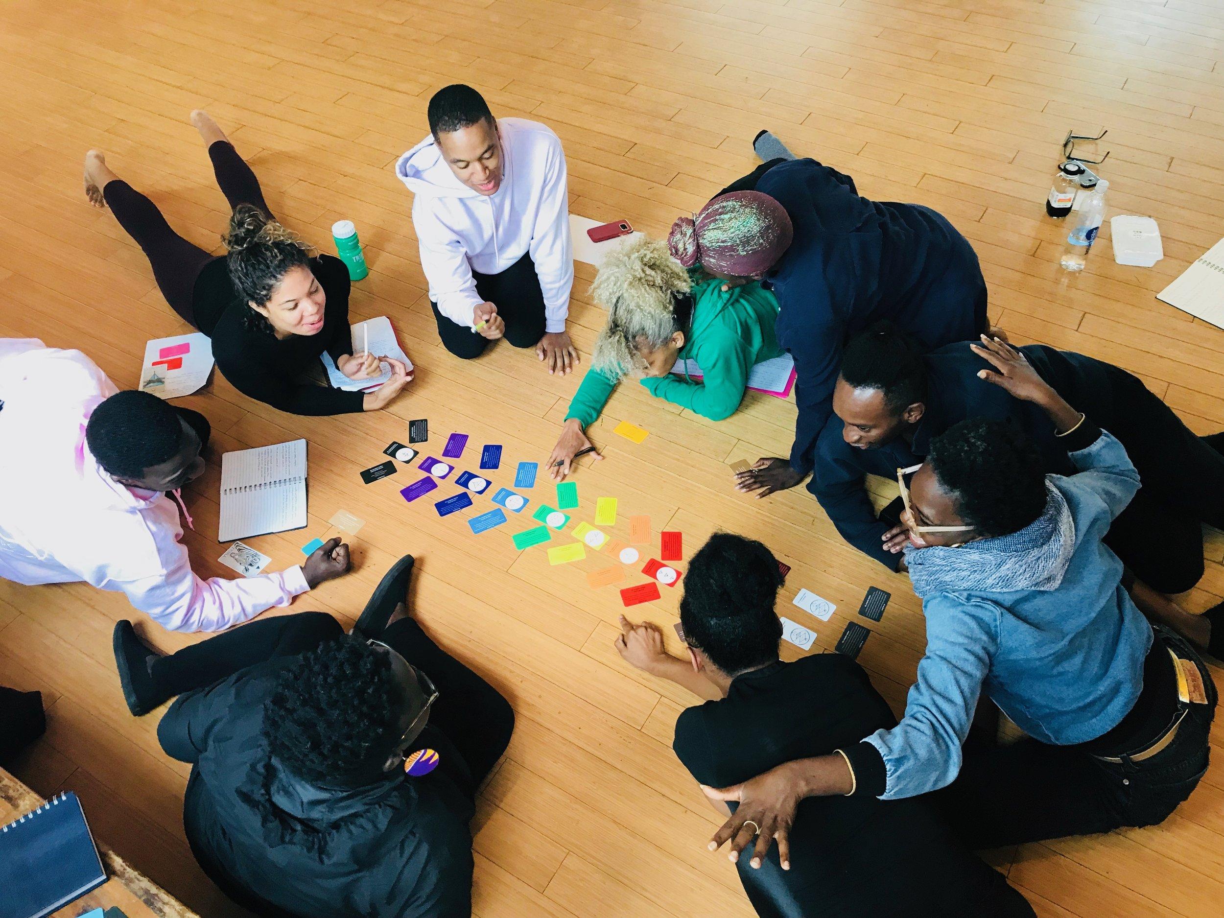 Anitafrika Method Group Workshop