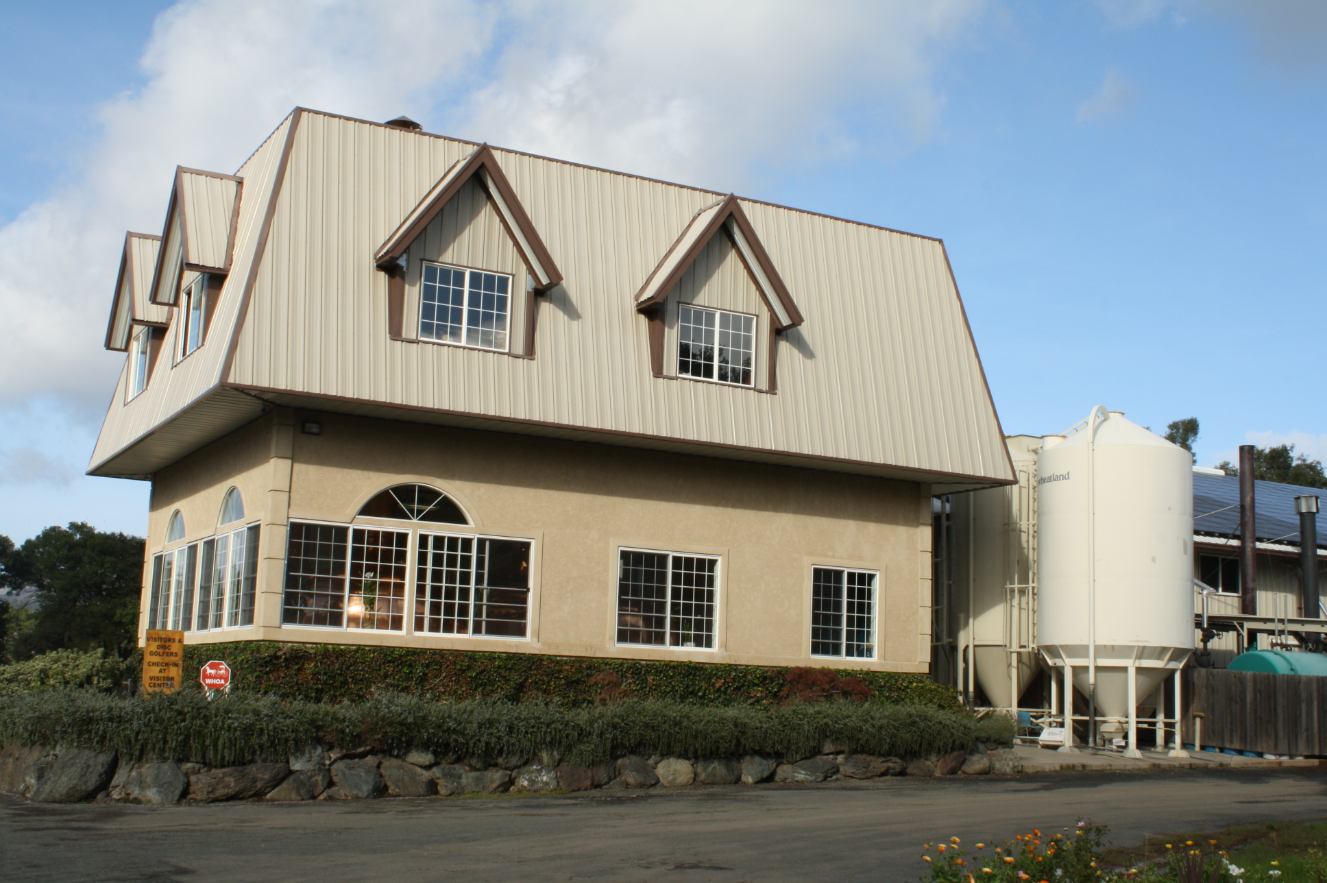 Andersen Valley Brewing Company's Brewhouse in Boonville, California