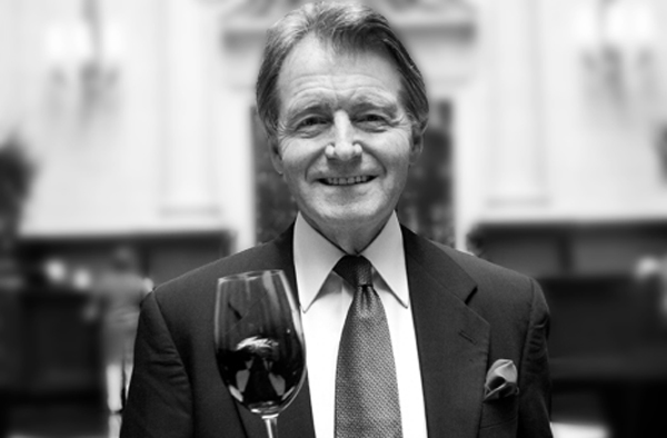 Steven Spurrier, organizer of the Judgment of Paris tastings, in 2011