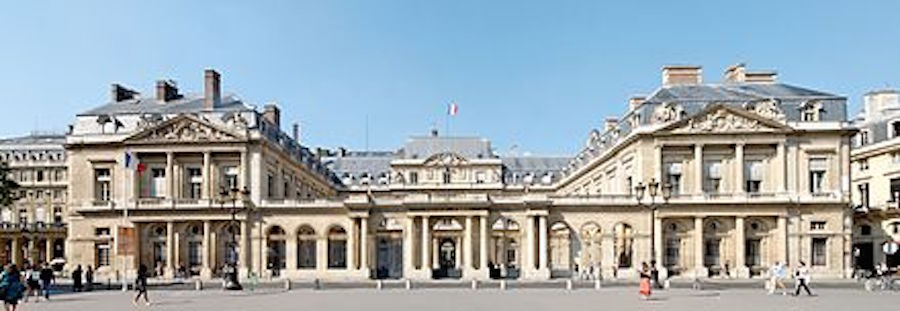 Palais-Royal in Paris, France. Not The Birthplace Of The Jukebox.