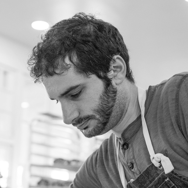 HEAD BAKER Aaron Arabian is a recent transplant to Cloverdale. After attending culinary school, Aaron spent several years working in San Fransisco kitchens including Michelin two-star Quince. When he is not baking,Aaron is a passionate student of life, lover of music, politics and current events, always ready for a intellectual debate!
