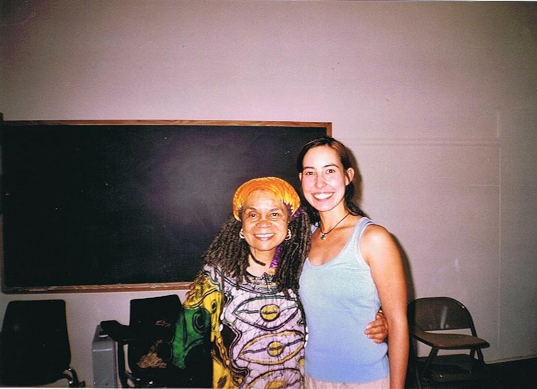 Naropa days with Sister Sonia Sanchez, phenomenal woman, poet, teacher, and activist.
