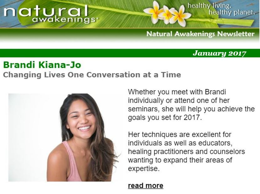Natural Awakenings January 2017