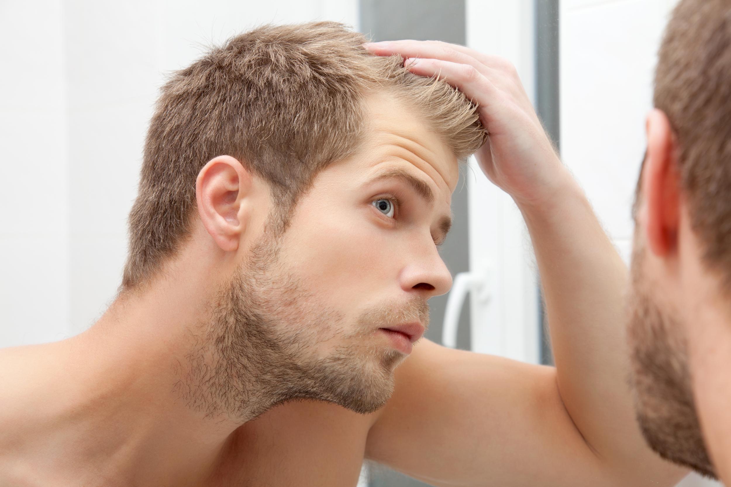 male hair photo