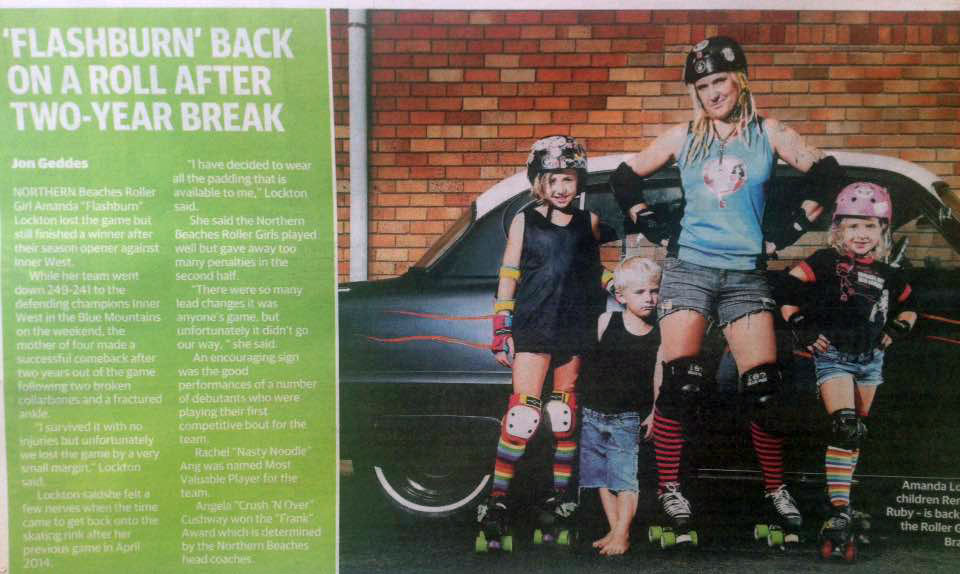 Manly Daily March 2016