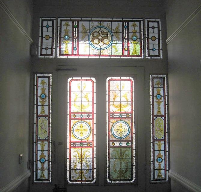 Victorian Front Door Panels