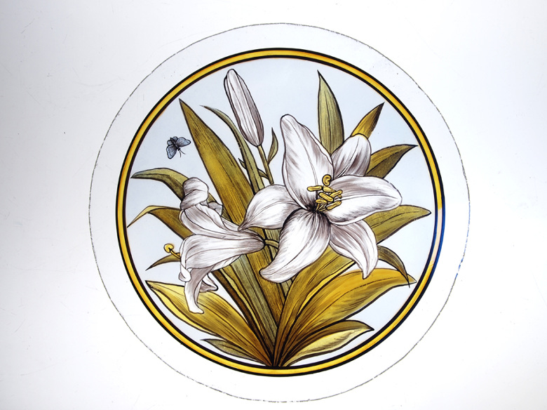White Lily Roundel