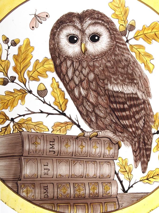 Bespoke Tawny Owl Roundel