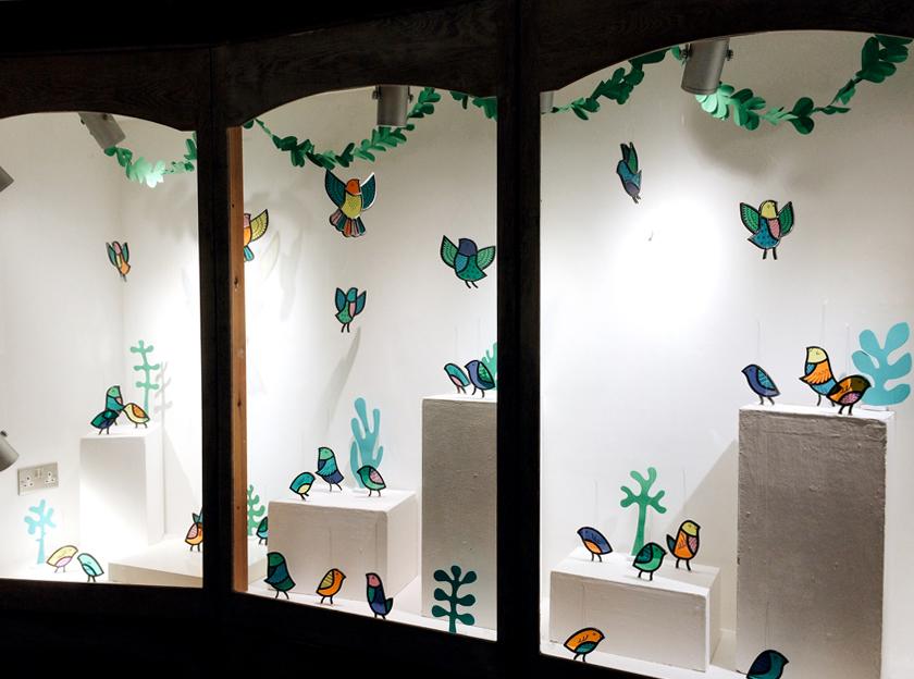 Aviary Installation at Prema Arts