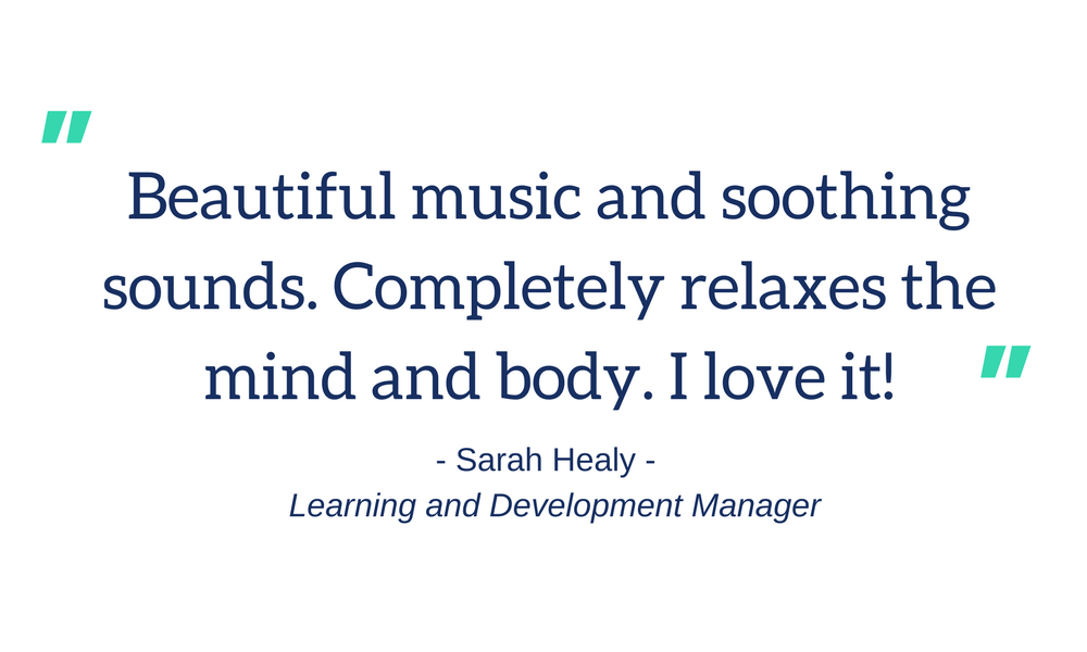 Soulful Soundwaves Client Testimonial