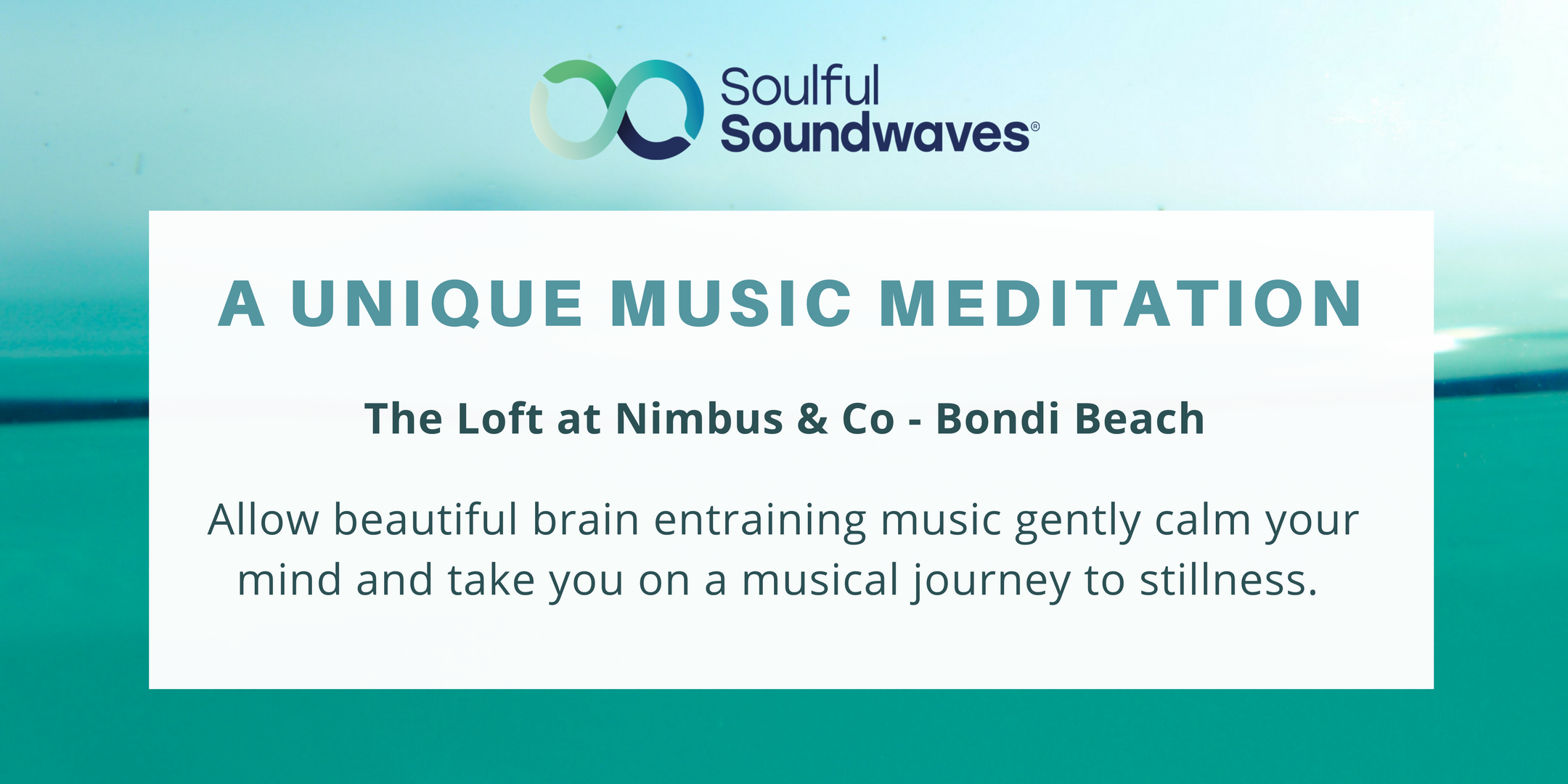 A unique music meditation
