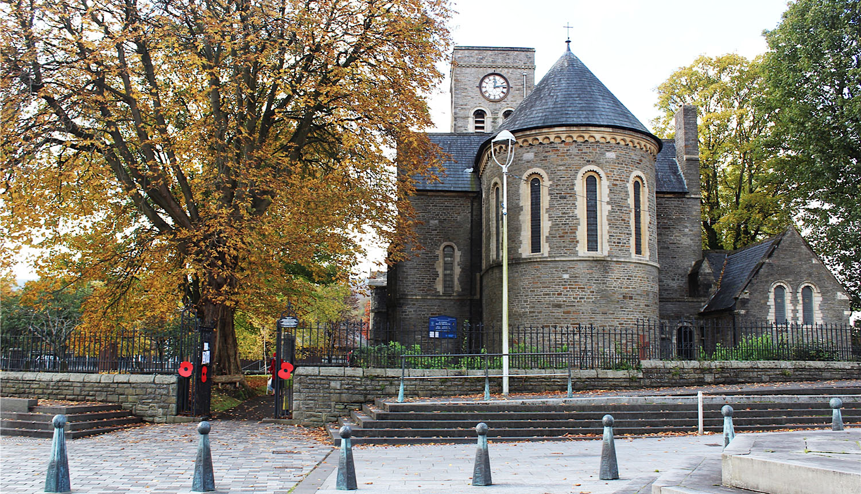 St Tydfil's old parish church