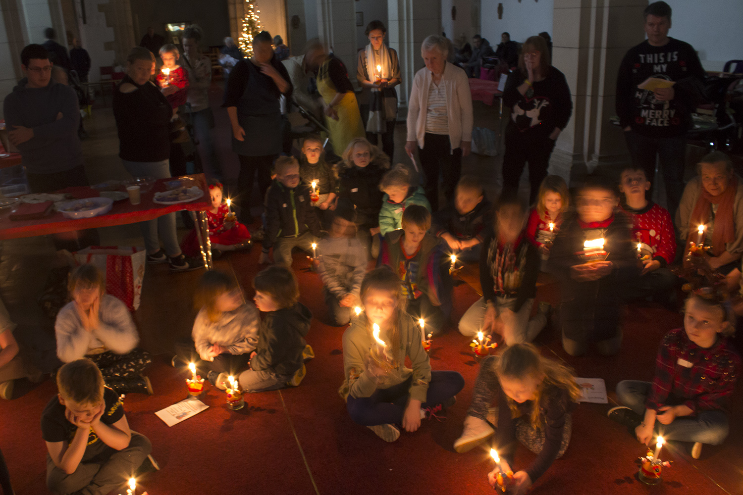 Christingle candlelight