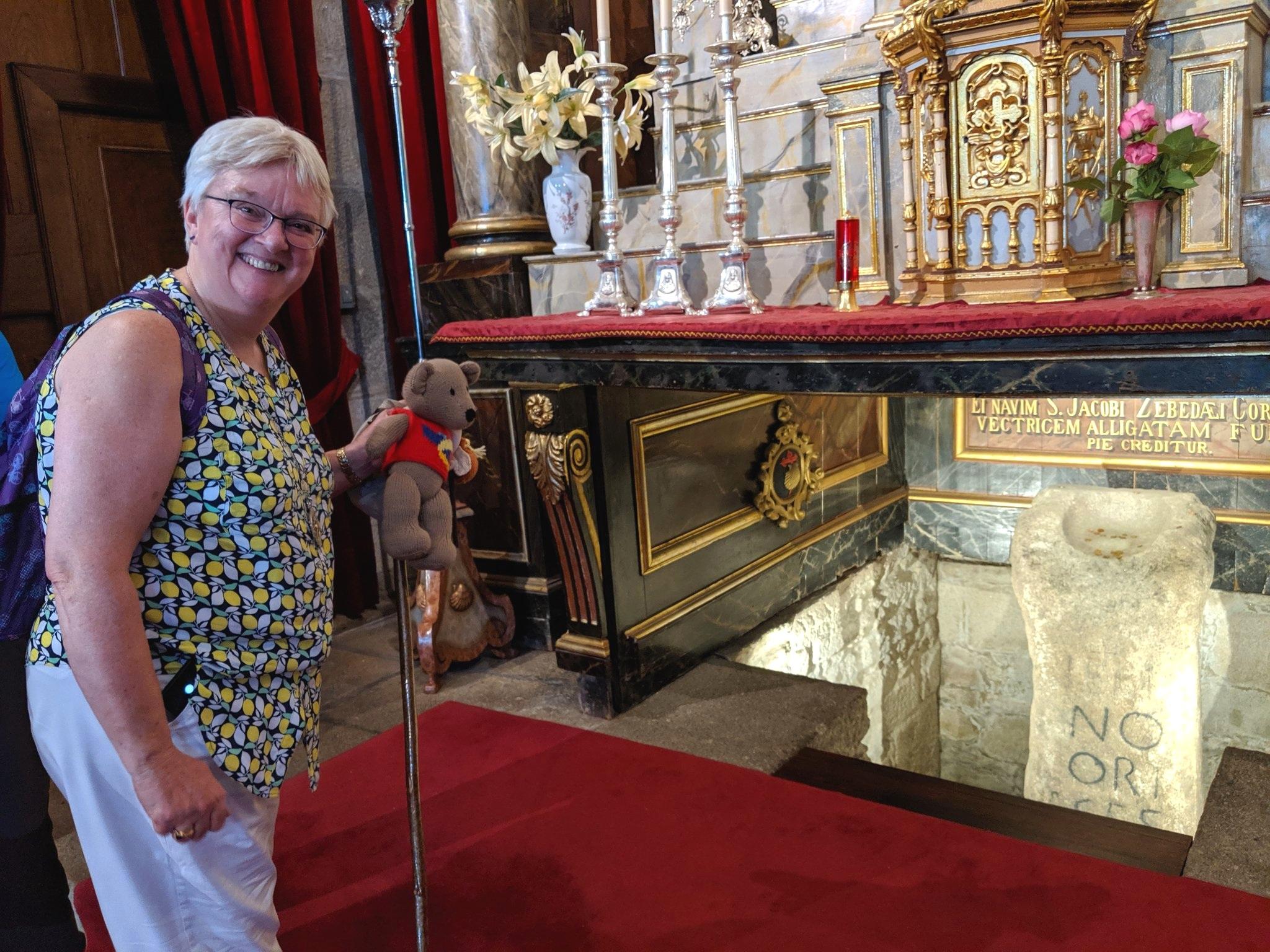 Tedi absconds with Bishop June!