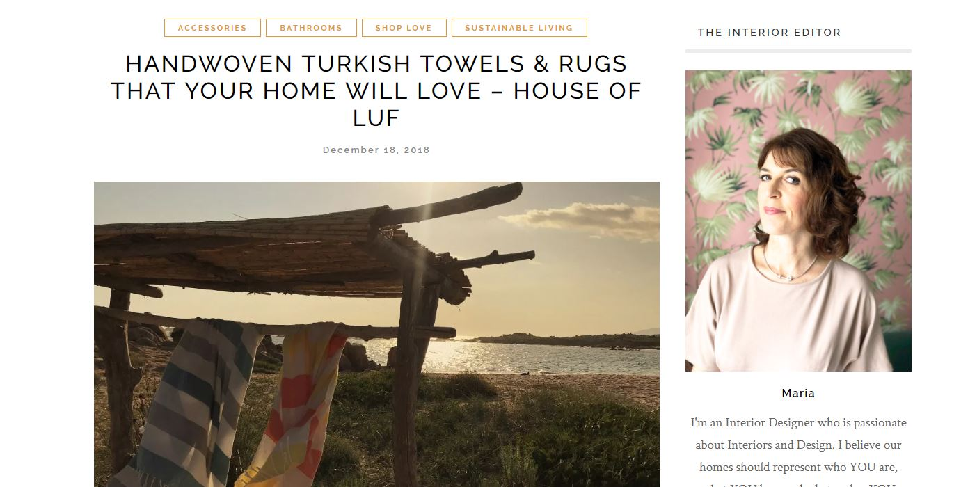 Luf Turkish towel review