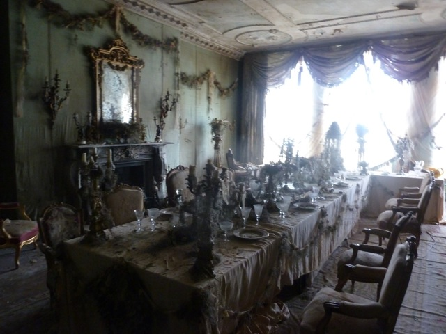 Great Expectations - Satis House interior - banqueting hall- David Roger - Production design .jpg
