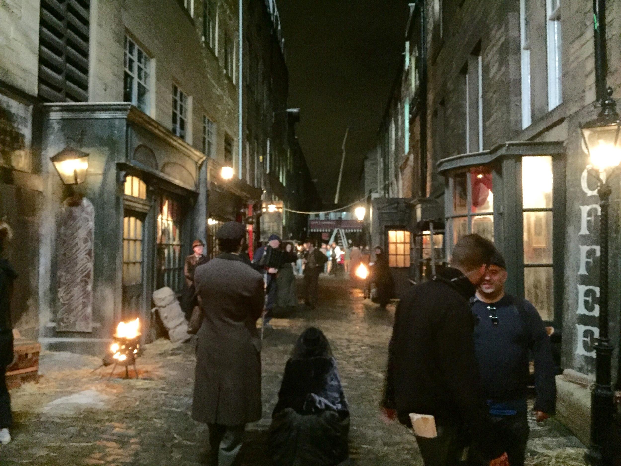 The Secret Agent - exterior street scene - behind the scenes-  production design - David Roger.jpg
