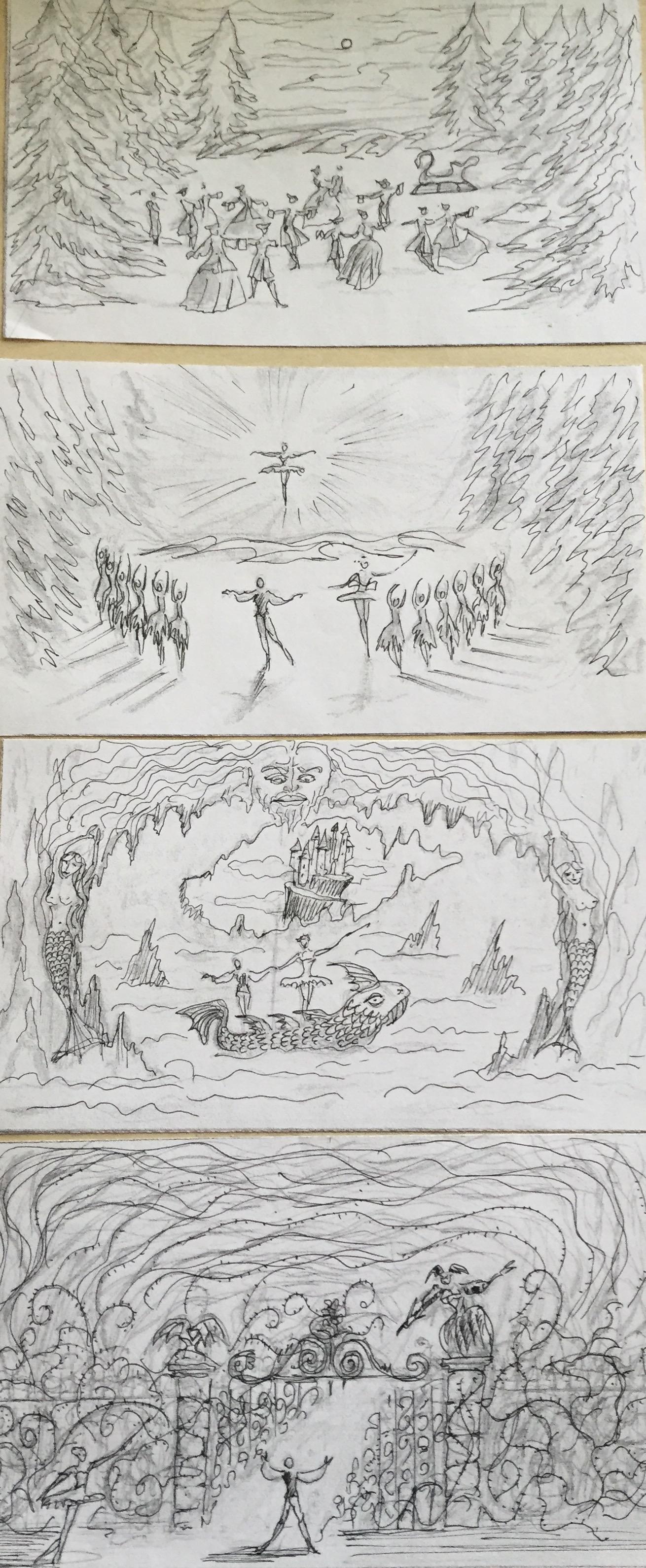 Sleeping Beauty ballet - producction design - David Roger 9 .jpg