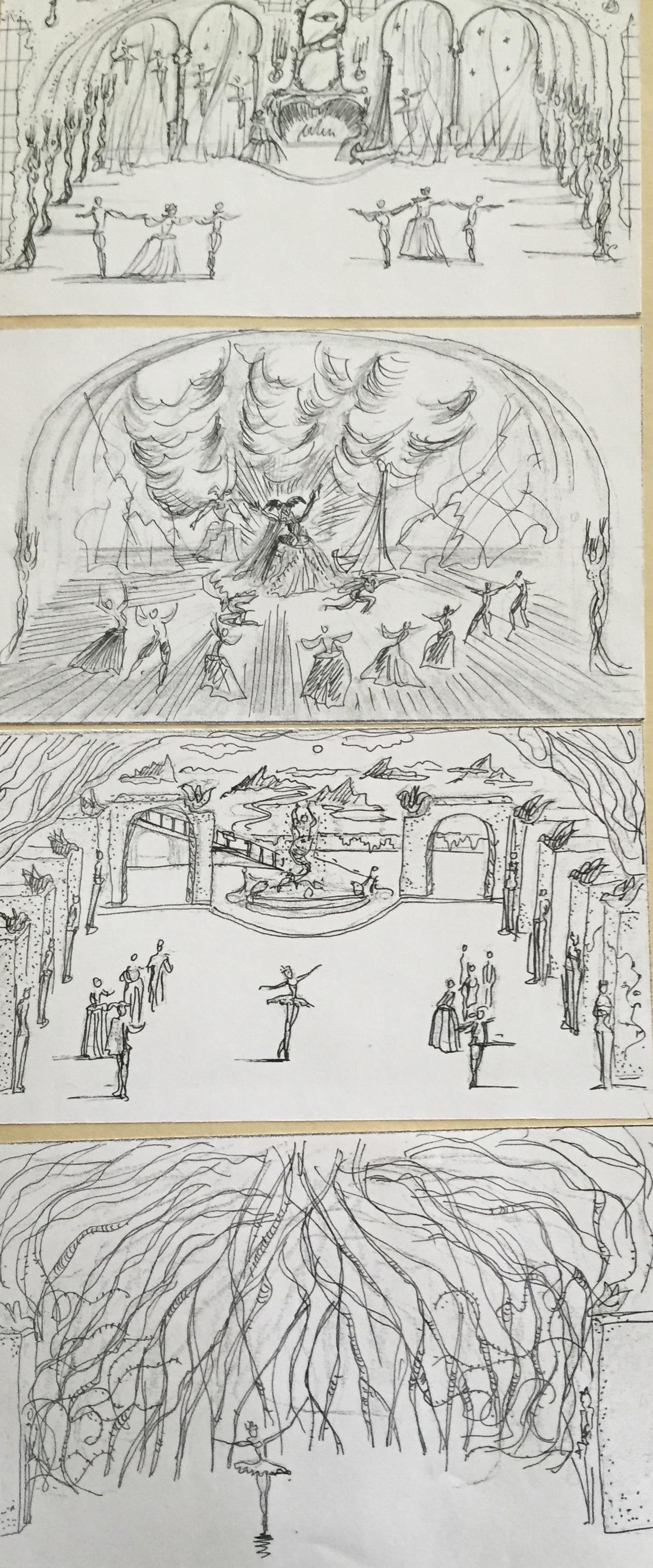 Sleeping Beauty ballet - producction design - David Roger 11.jpg