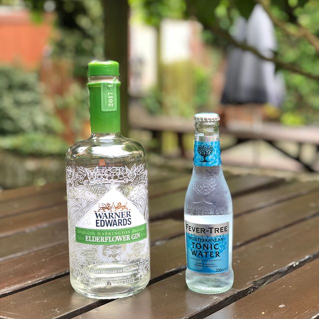 Happy National Gin Day everyone!!! And is there any better way to spend it than to come down and have one of our favourite gin and tonic combinations of Warner Edwards Elderflower gin and Fever Tree Mediterranean Tonic?