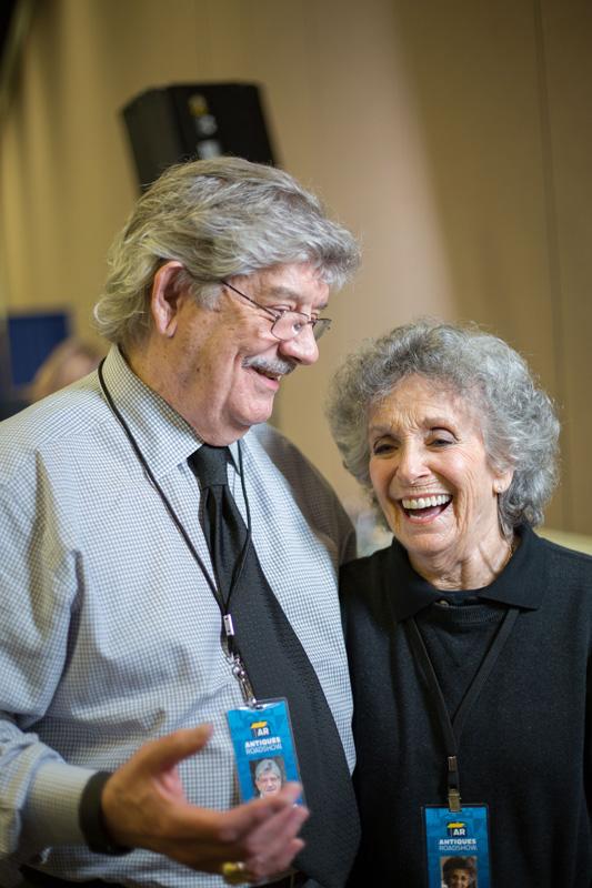 John Buxton appraises art at PBS's Antiques Roadshow
