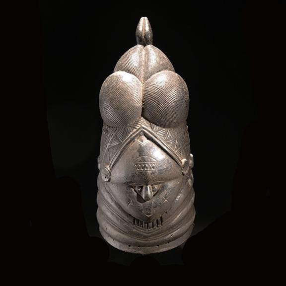 Sande Society Bundu Mask - 1326