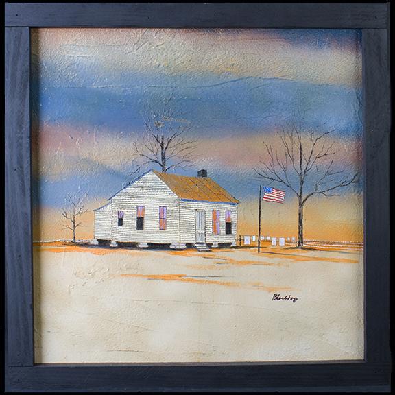 "Ken ""Blacktop"" Gentle ""Old Jake's House"", 2007"