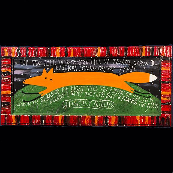 """""""Fox on the Run"""" by Jiim Gary Philips"""