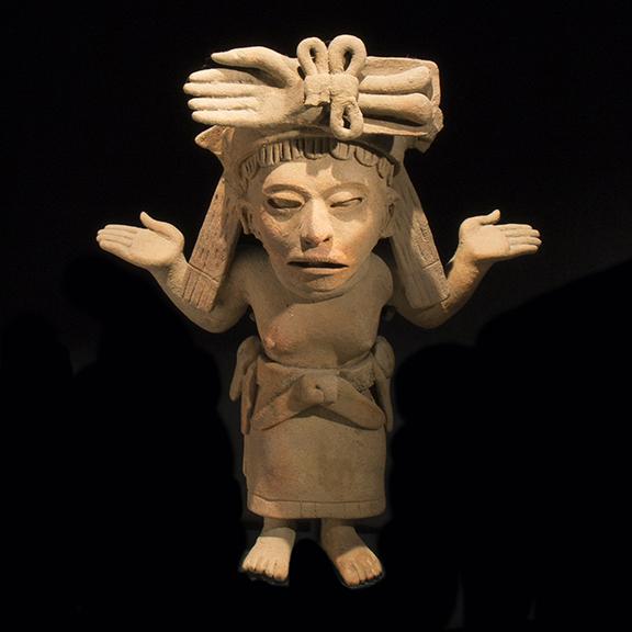 Standing Veracruz Figure