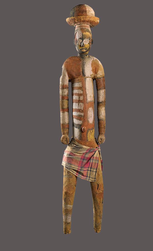Lot 26. Allen Stone Auction. October 19, 2018  IGBO, COMMUNITY SHRINE FIGURE, NIGERIA   Estimate:  $5,000 - $10,000