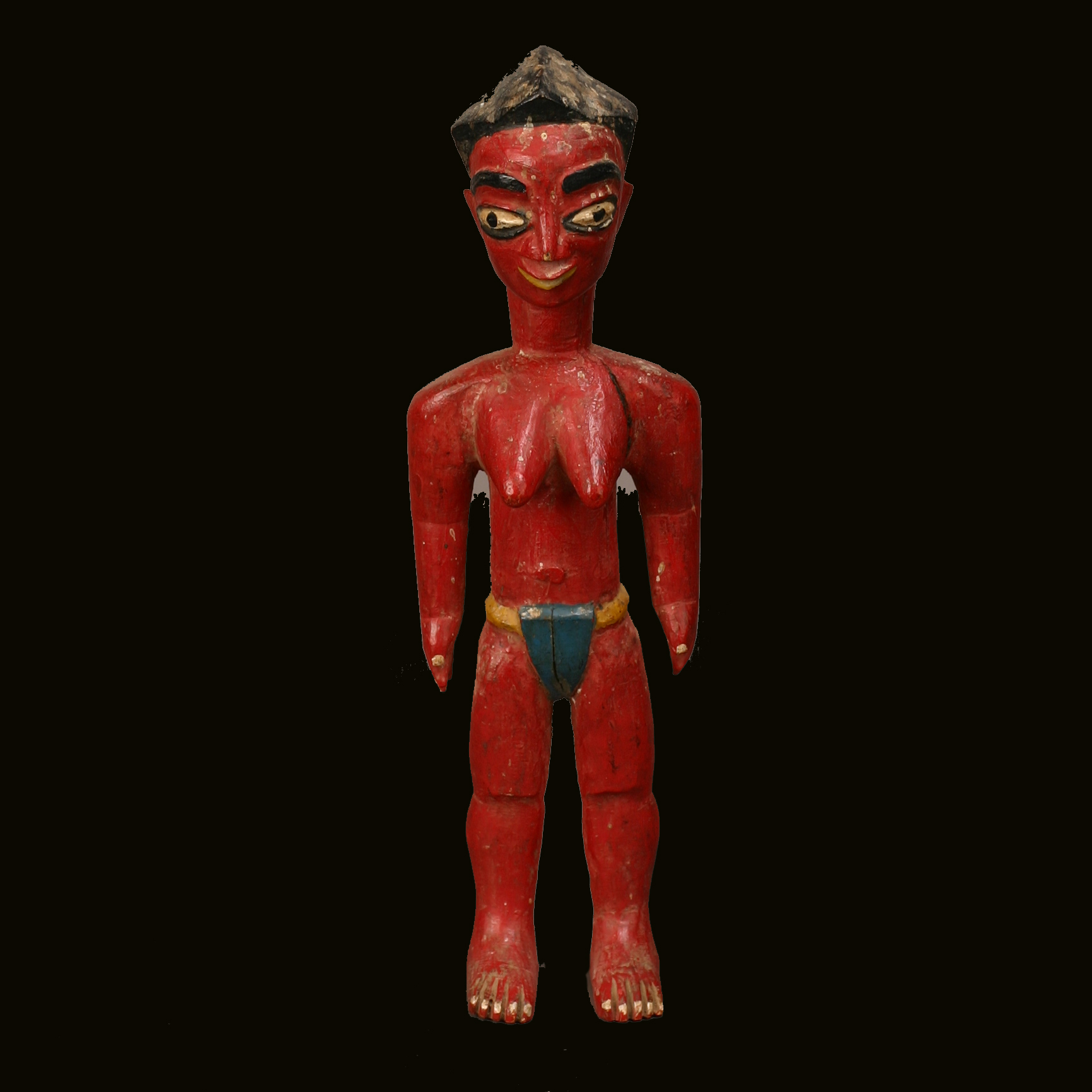 Baule Female Spirit Figure