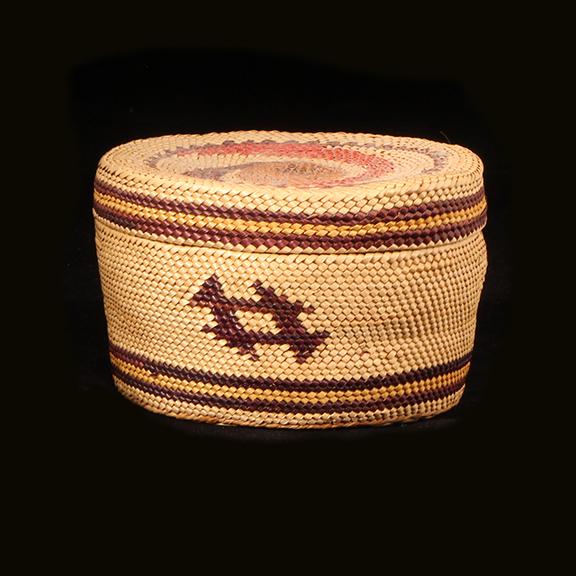 Makah Woven Basket