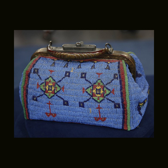 Sioux Beaded Doctors Bag, Phoenix AZ