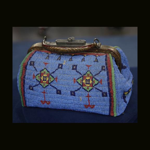 Sioux Beaded Doctors Bag, Phoenix AZ