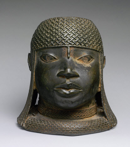 Benin Head of An Oba, Nigeria 16th Century