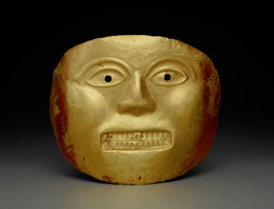 Calima Gold Mask, Colombia 800 - 100 BBC