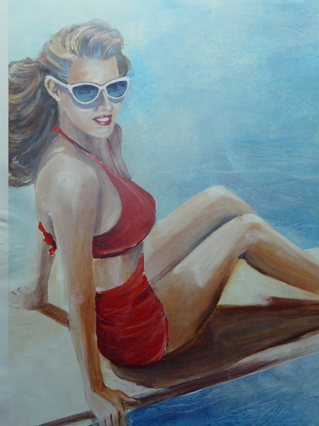 Pin Up Red