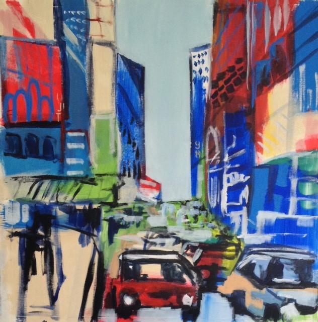 City Streets II 30 x 30