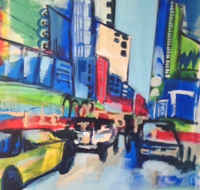 City Streets III 30 x 30