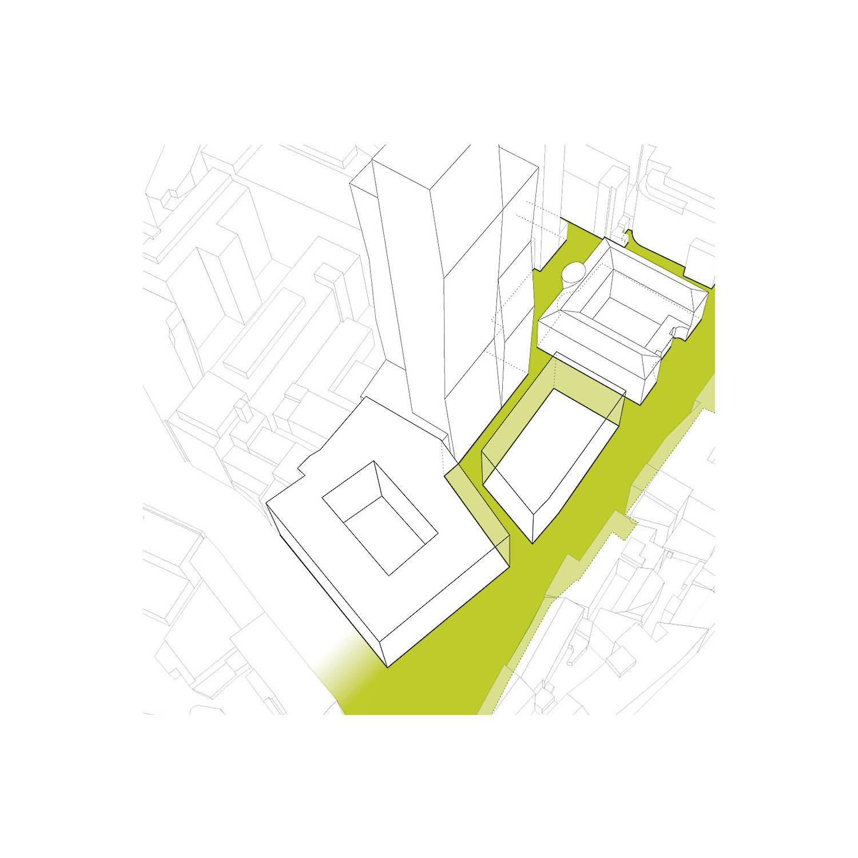 ....Flowing Urban Space..Fließender Stadtraum....