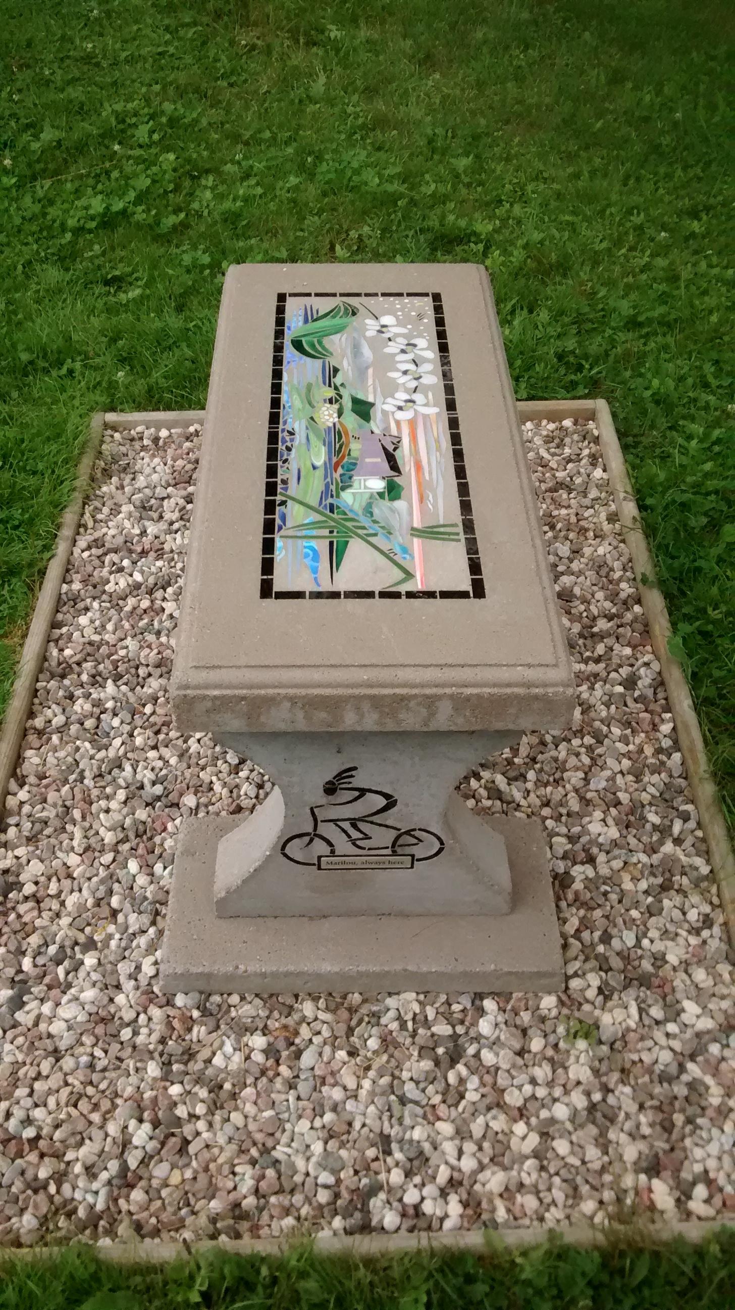 Memorial to Mary Lou